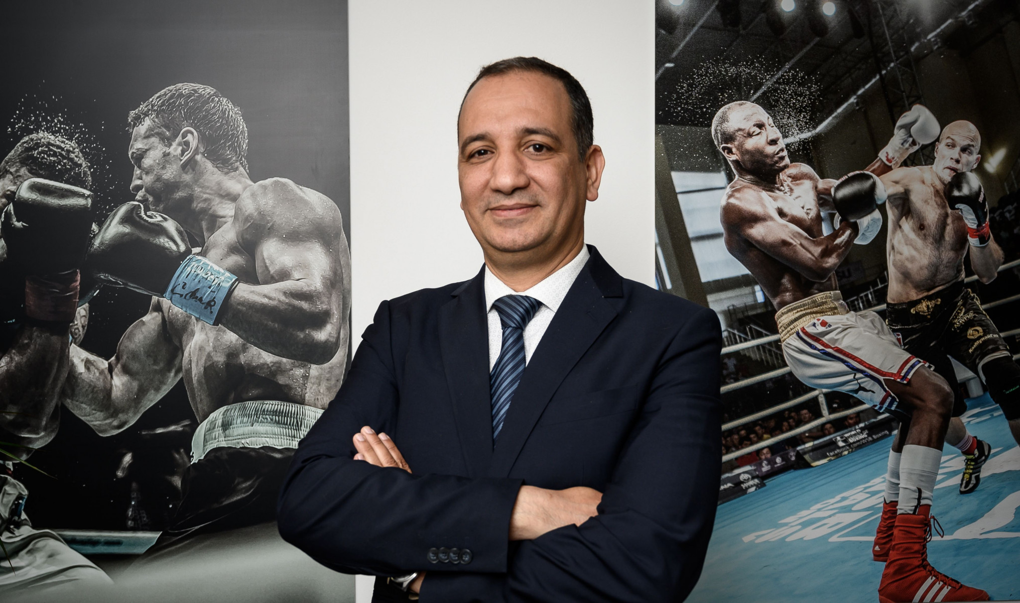AIBA President Mohamed Moustahsane revealed his scepticism about the BFI claims ©Getty Images