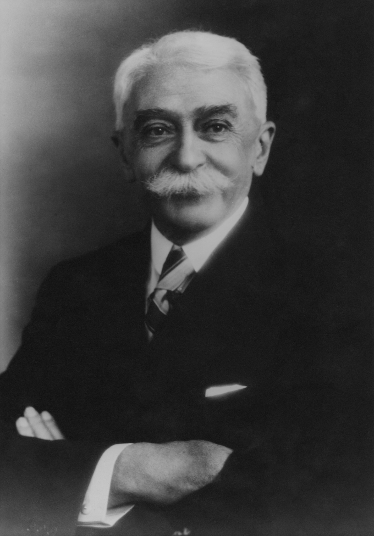 Baron Pierre de Coubertin, circa 1925. Fox Photos/Hulton Archive/Getty Images