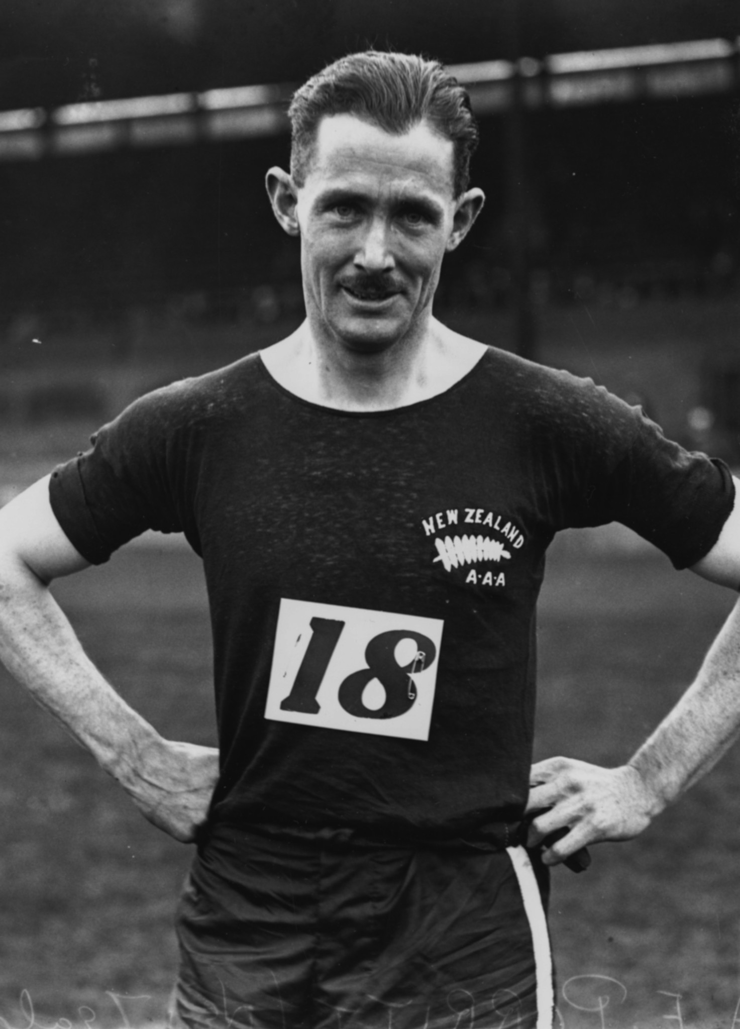Sir Arthur Porritt, 100m Gold at the 1924 Summer Student World Championships. © Central Press/Hulton Archive/Getty Images