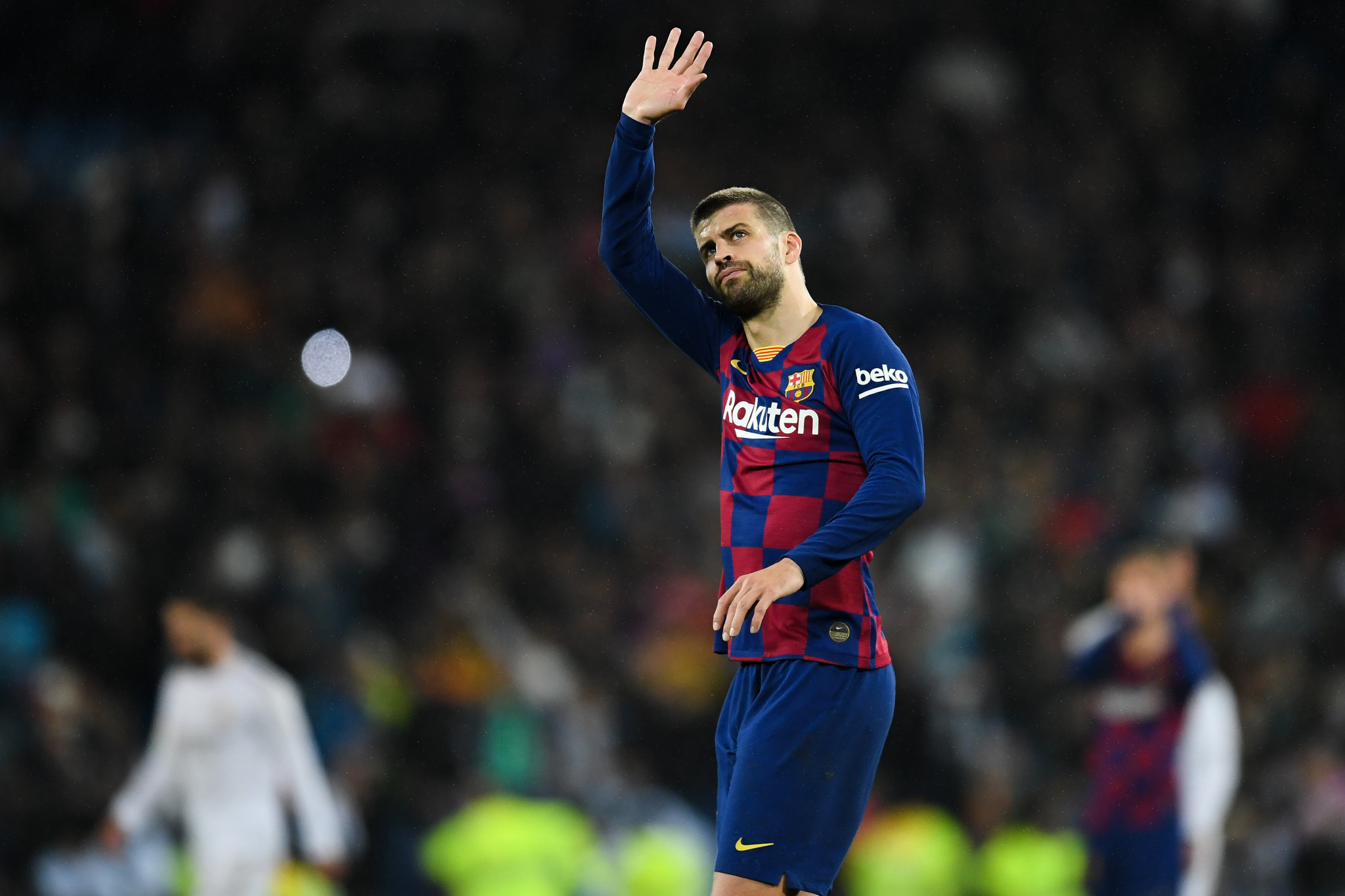 Gerard Piqué has expressed doubts over whether the event will take place should fans not be present ©Getty Images