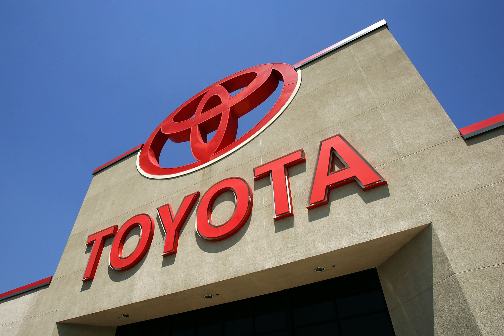 Toyota is forecasting a year-on-year decrease in vehicle sales of more than 20 per cent ©Getty Images