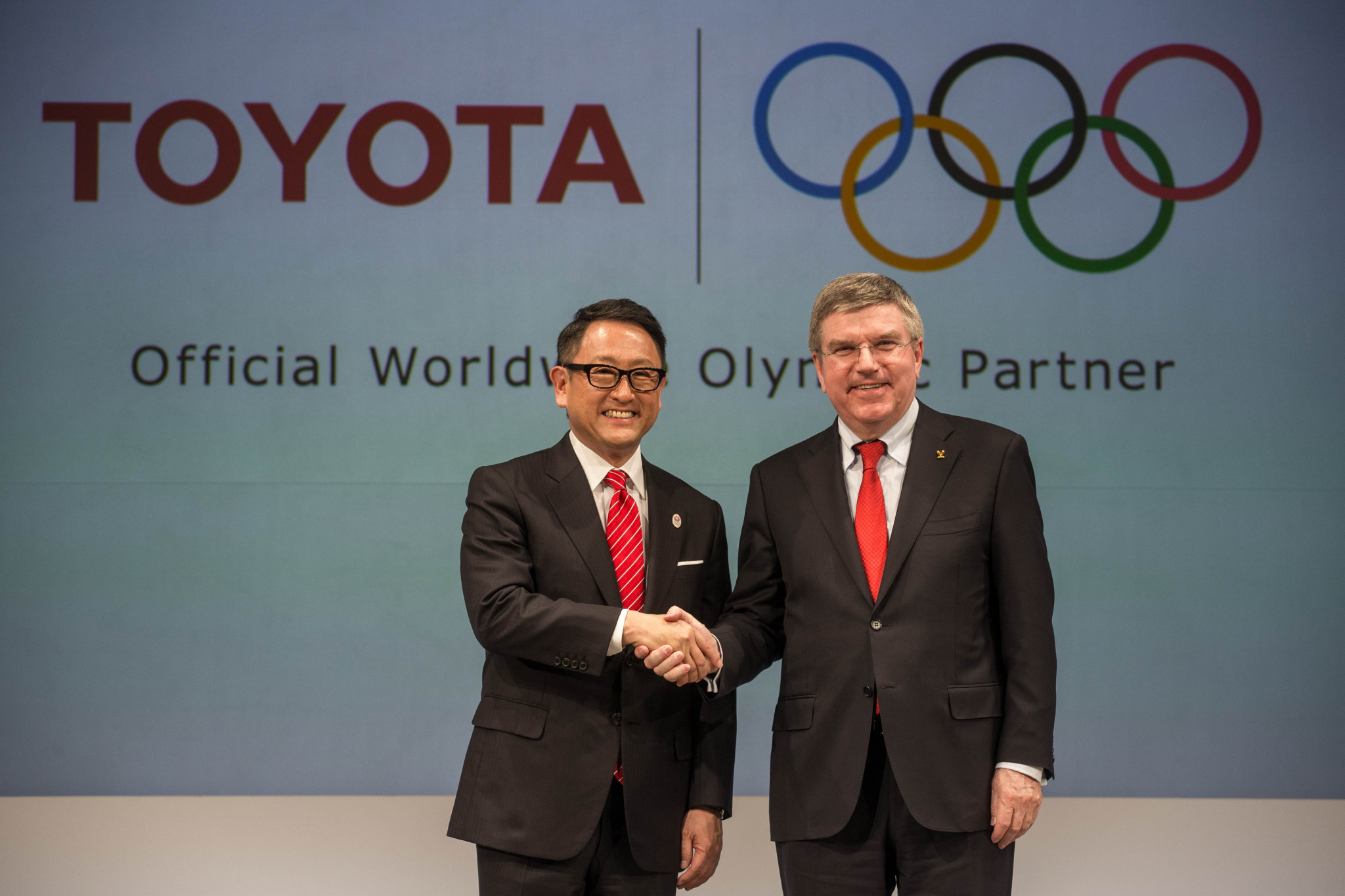 Toyota became a TOP sponsor in 2015 ©Getty Images
