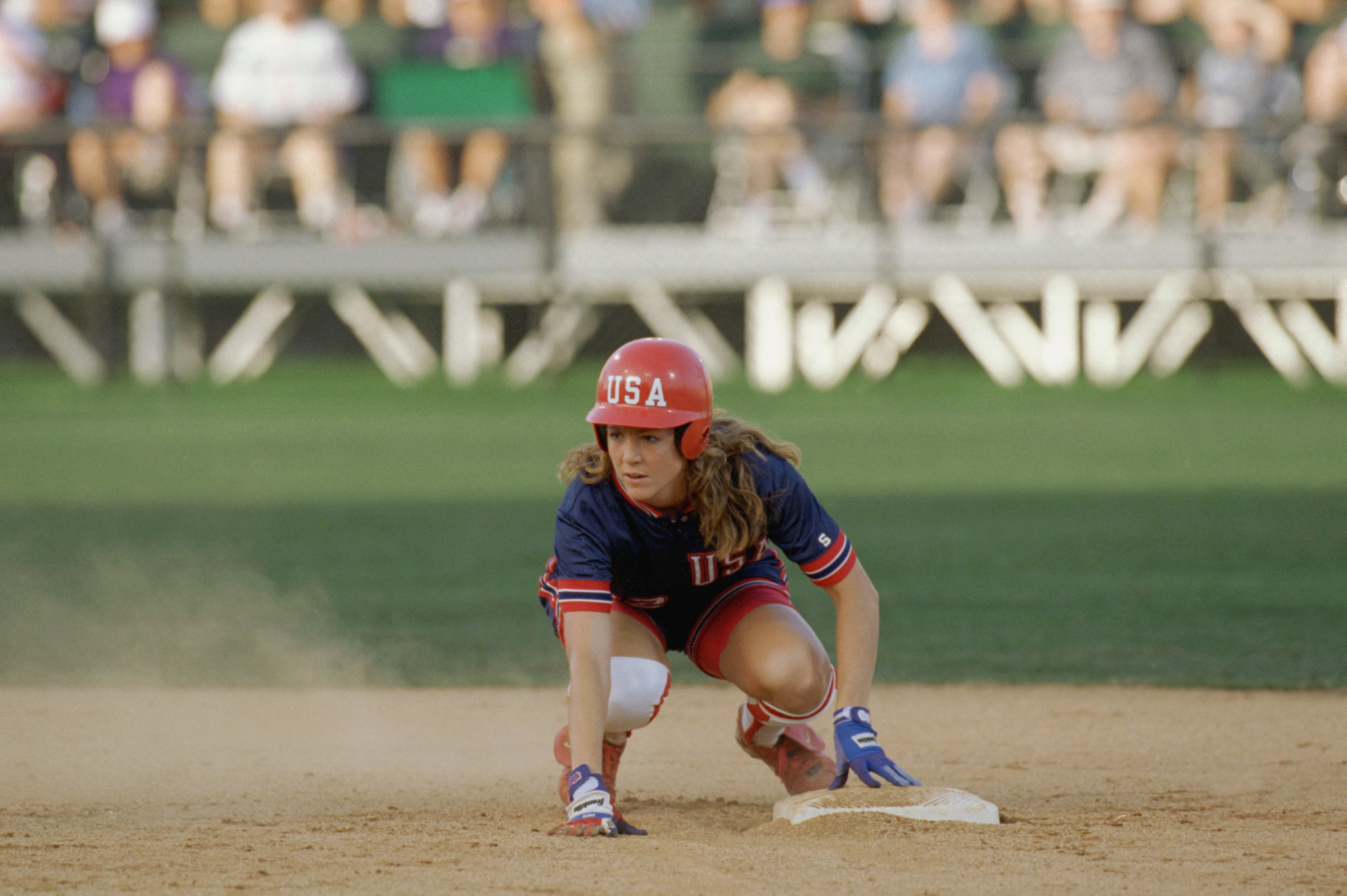 The United States won softball gold when it last hosted a Summer Olympics ©Getty Images