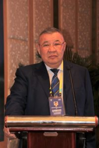 Kairat Turlykhanov of Kazakhstan has died at the age of 60 ©AWF
