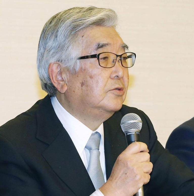 NPB commissioner Atsushi Saito suggested the season could start in the second half of June ©WBSC