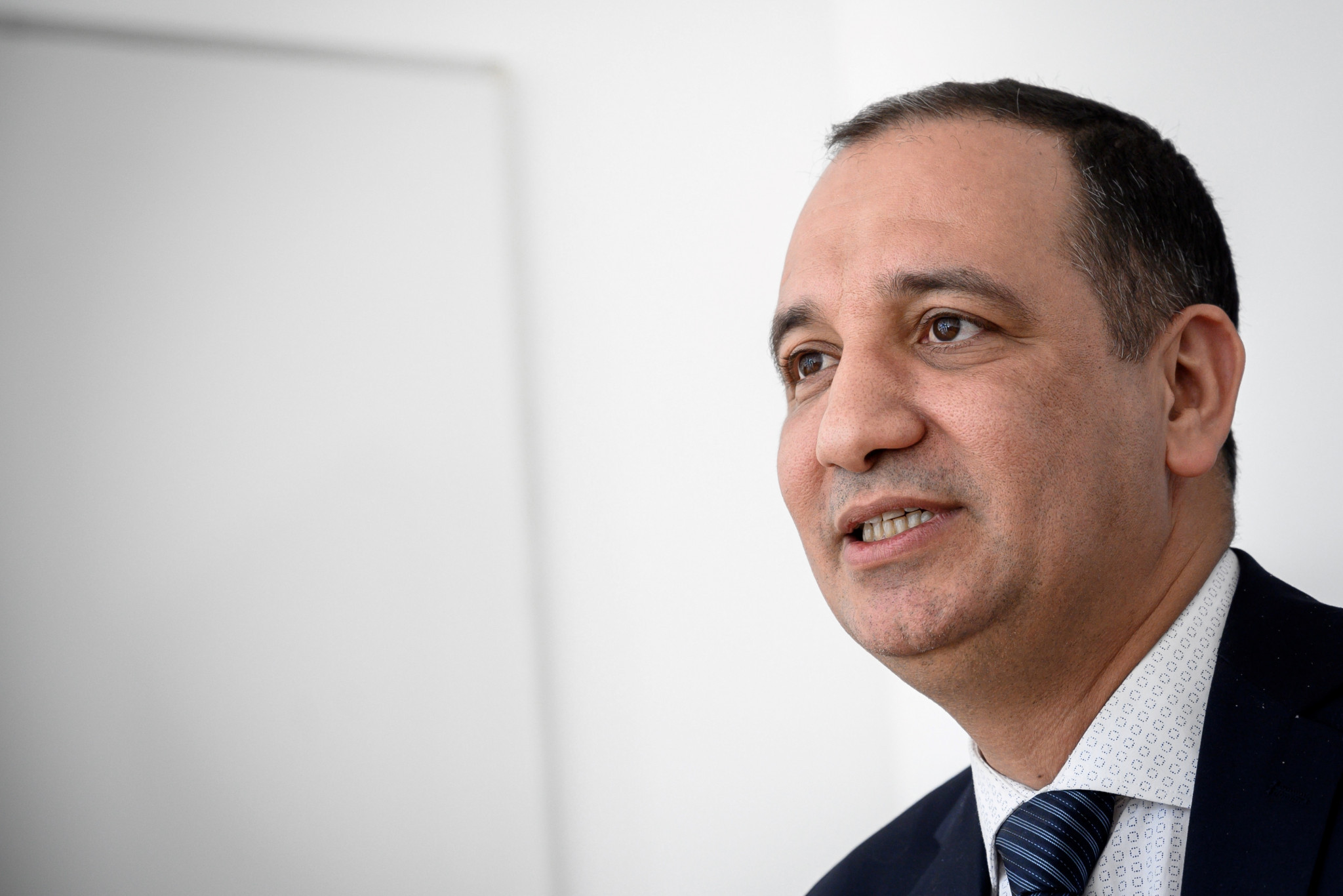 AIBA Interim President Mohamed Moustahsane revealed the details of the financial dues owed to AIBA by the BFI ©Getty Images