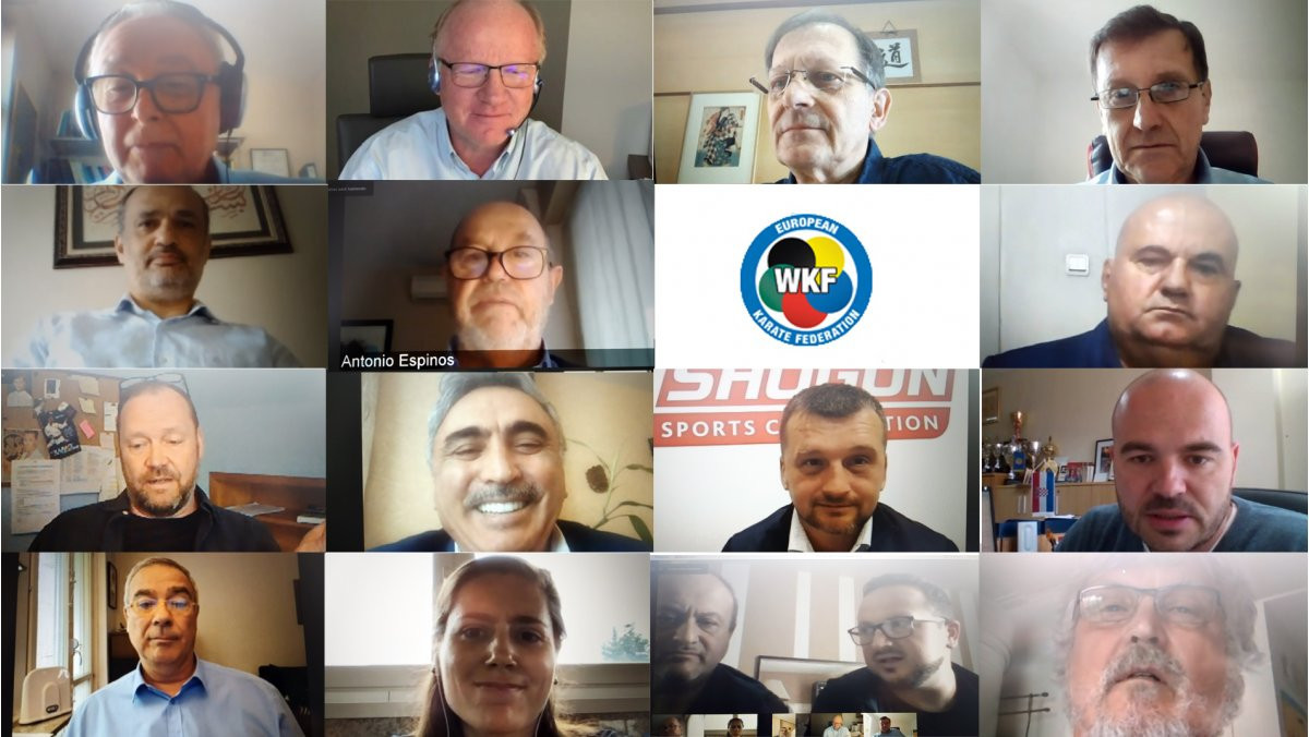 The EKF Executive Committee held its latest remote meeting this week ©WKF