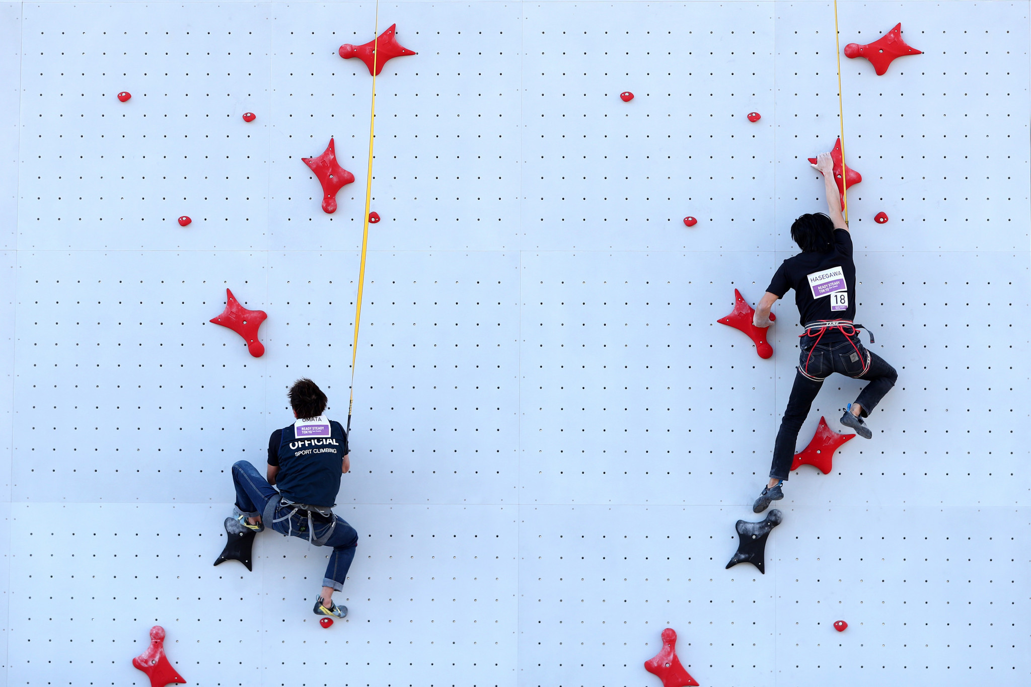 Climbing must wait an extra year to make its Olympic debut ©Getty Images