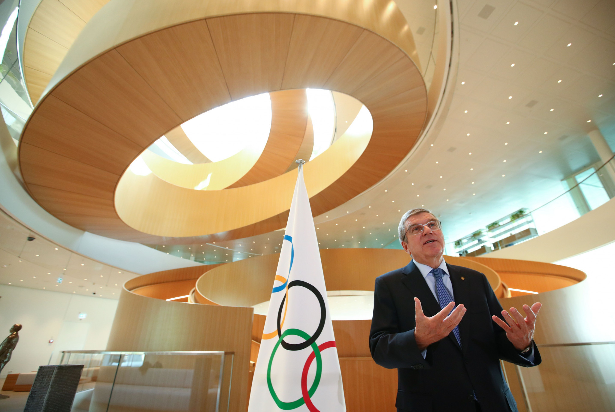 IOC President Thomas Bach remarked that it would be the first time a Session is held virtually ©Getty Images