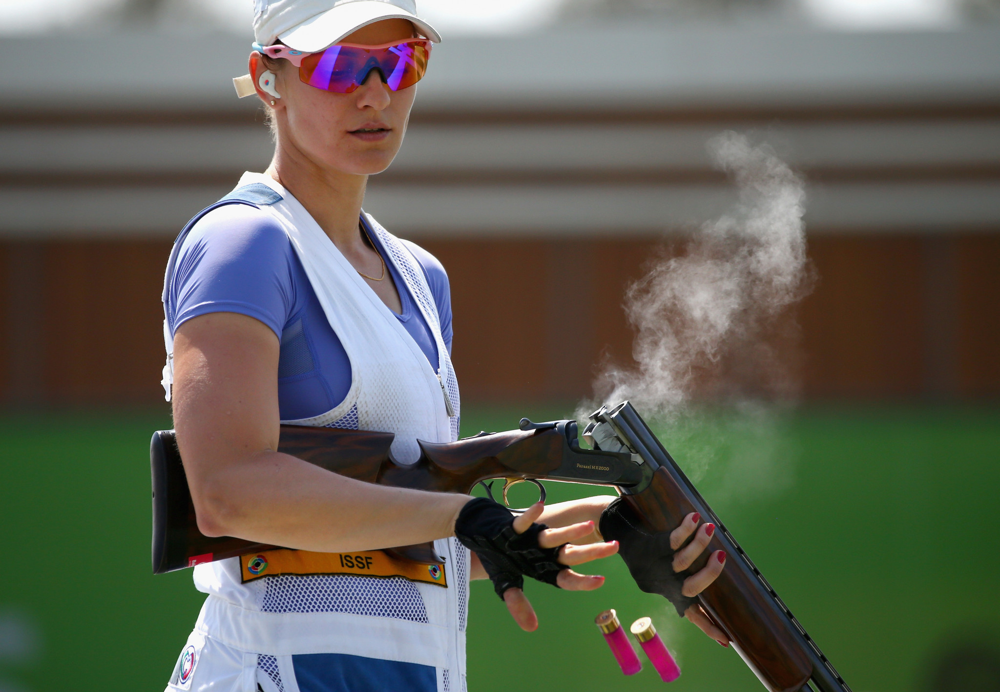 Danka Barteková of Slovakia will be standing for re-election to the IOC Athletes' Commission at next year's Olympic Games in Tokyo ©Getty Images
