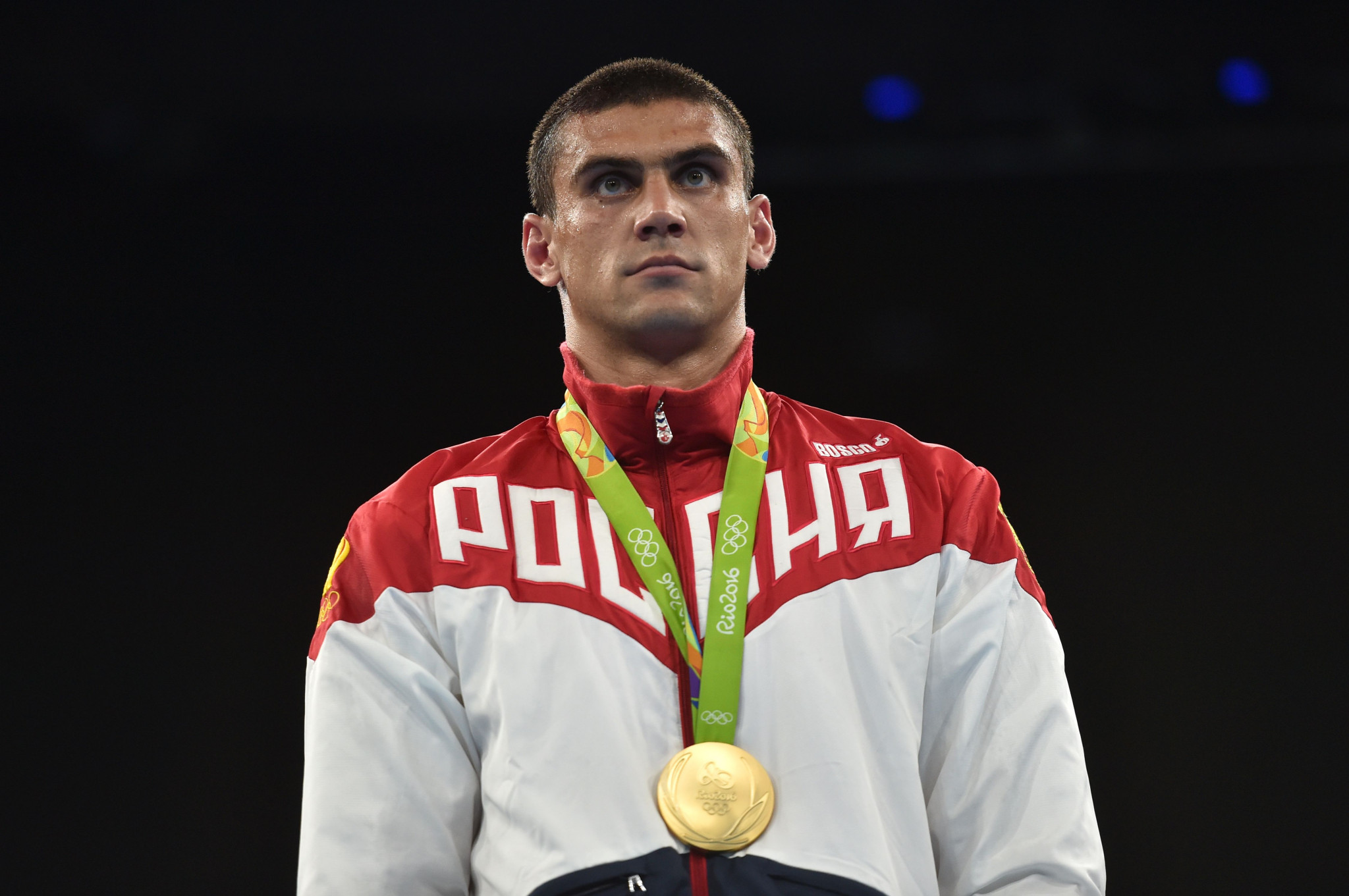 Olympic boxing champion Evgeny Tishchenko had to reject claims he had coronavirus ©Getty Images