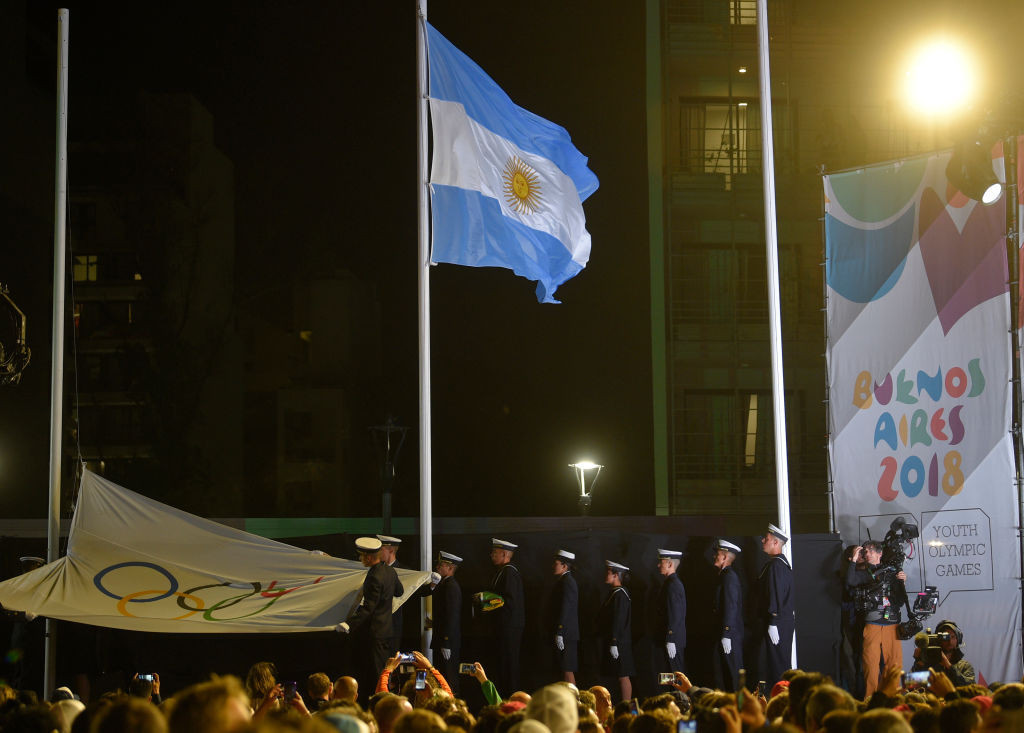 Buenos Aires hosted the last Summer Youth Olympic Games in 2018 ©Getty Images