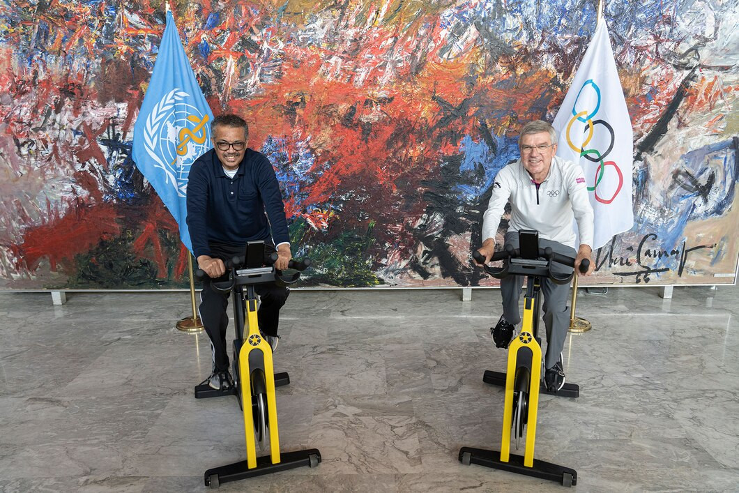 The International Olympic Committee and World Health Organization have worked together since 1984 ©IOC