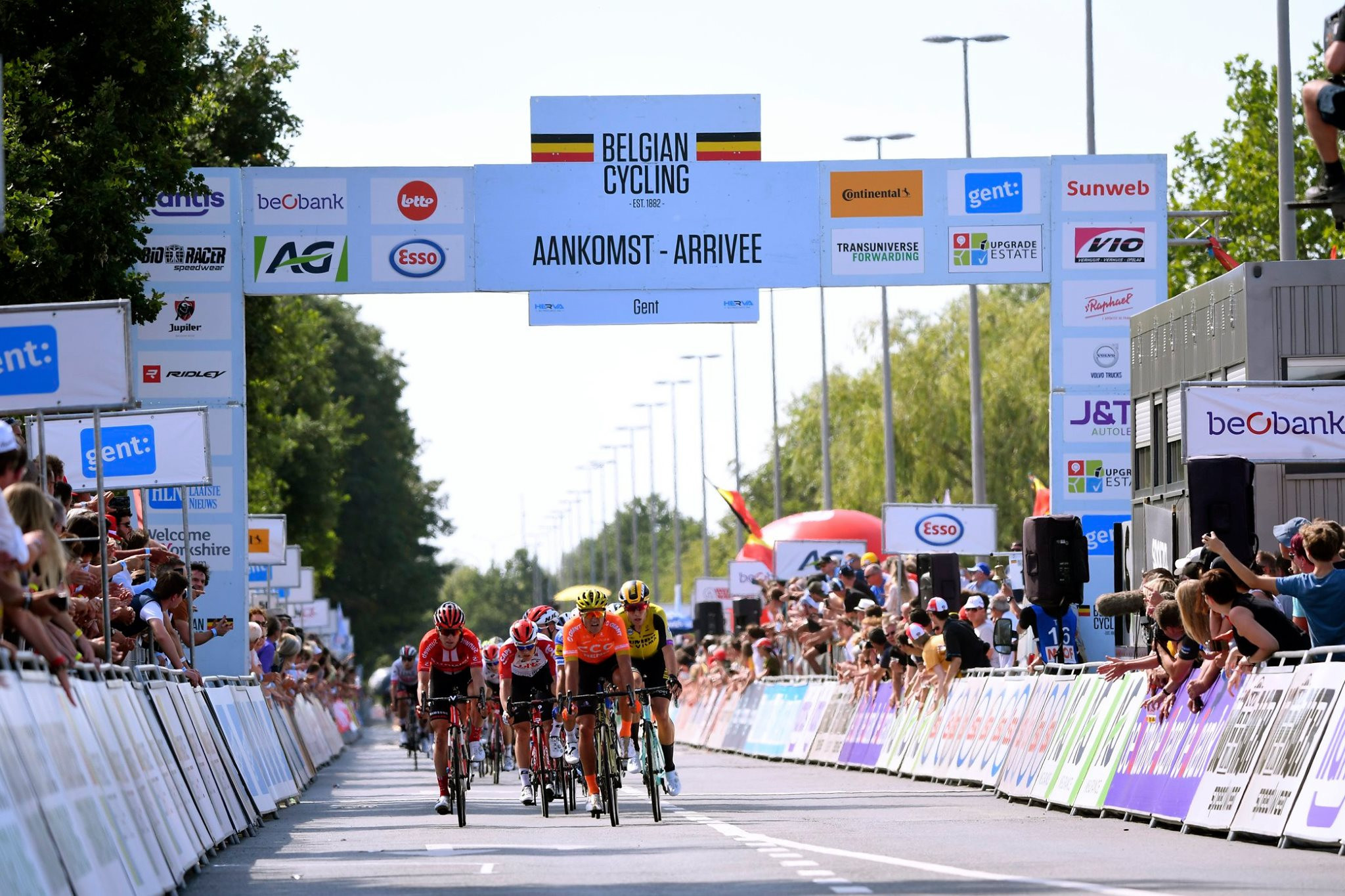 Belgian Road Race Cycling Championships moved only two days after Tour de France finale