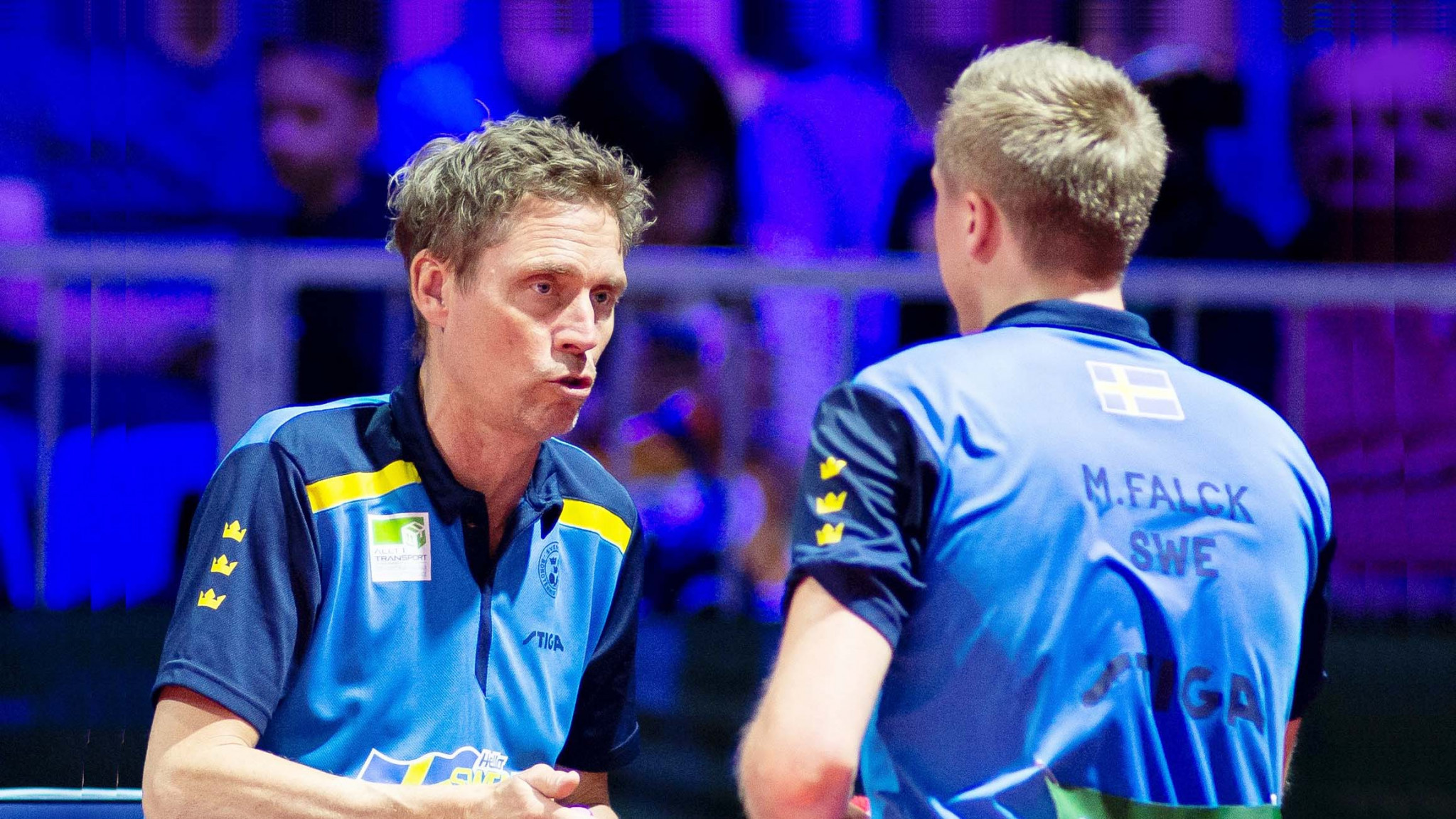 Jörgen Persson returns to the team that he won accolades with during the 1980s and 1990s ©Twitter/@ITTFworld