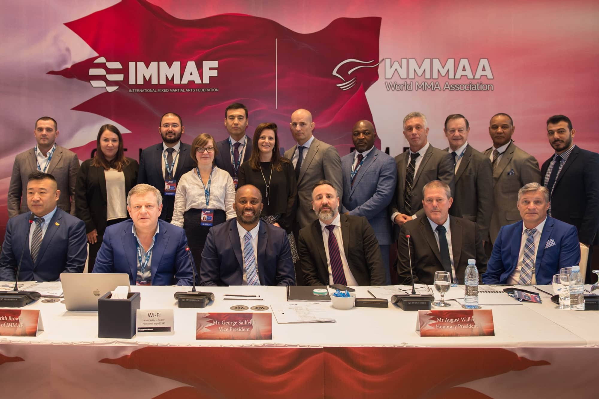 IMMAF Board set to participate in good governance training