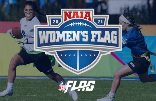 Flag football is set to come to the NAIA ©NFL Flag