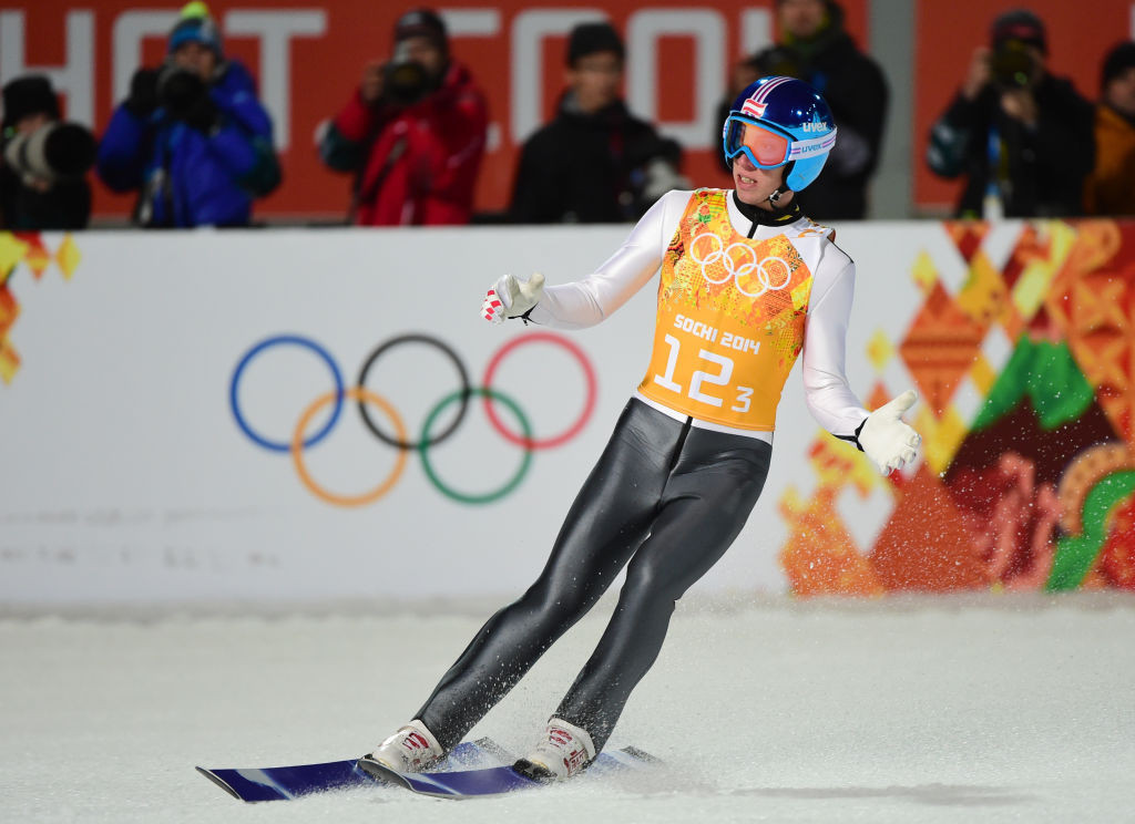 The Austrian won a silver medal in the team event at Sochi 2014 ©Getty Images