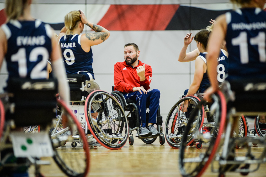 Interim British women's wheelchair basketball coach steps down