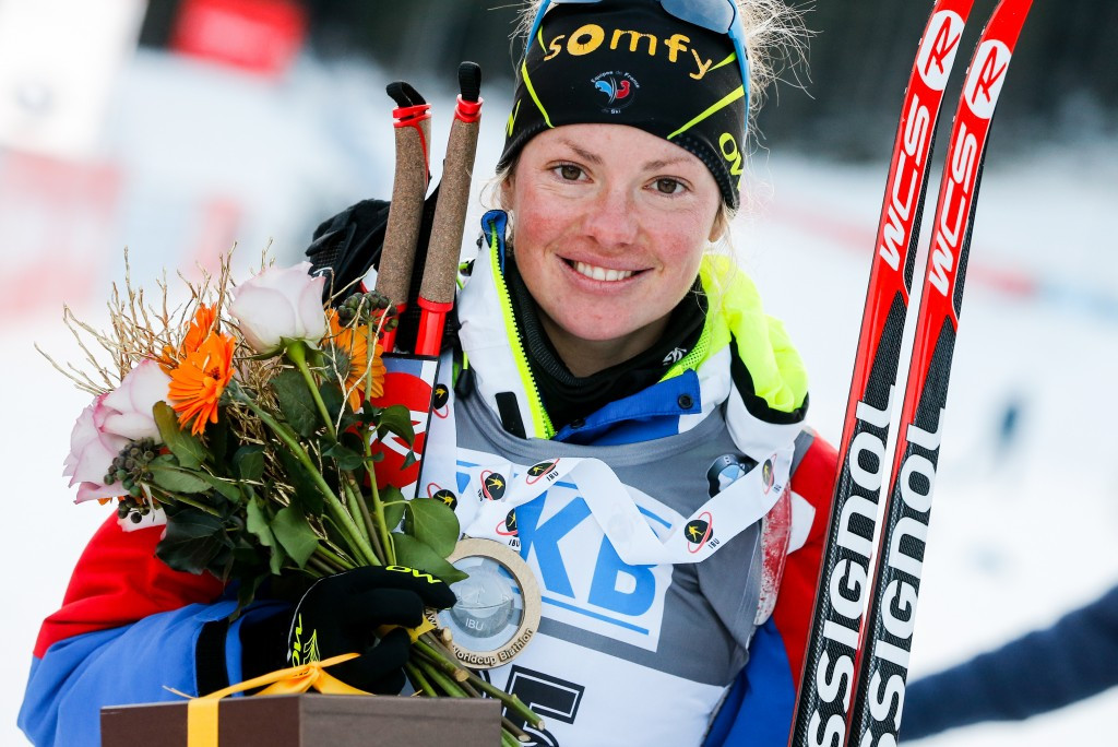 Dorin Habert edges thrilling women's pursuit race to seal first IBU World Cup win of season