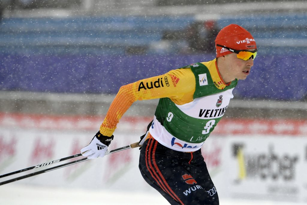 World champion Eric Frenzel headlines the German Nordic combined team ©Getty Images