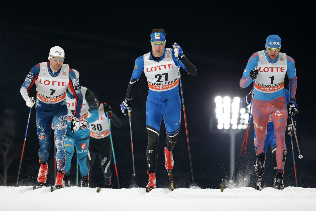 Kein Einaste, centre, has been given additional responsibility in his coaching role at Swiss-Ski ©Getty Images