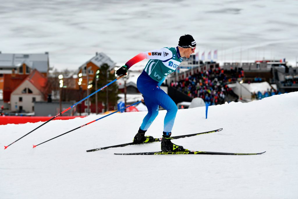 Dario Cologna recorded the best result of the Swiss team during the 2019-2020 World Cup season ©Getty Images
