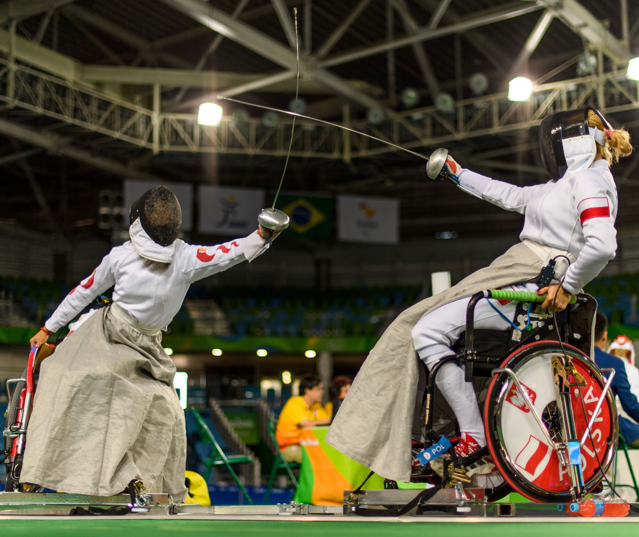 Warsaw has been a regular destination for major wheelchair fencing events ©Getty Images