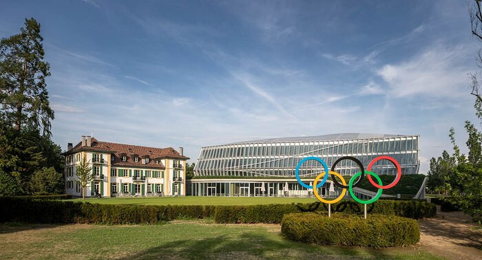 The International Olympic Committee officially opened Olympic House in Lausanne in Switzerland in June 2019 ©IOC/Adam Mork