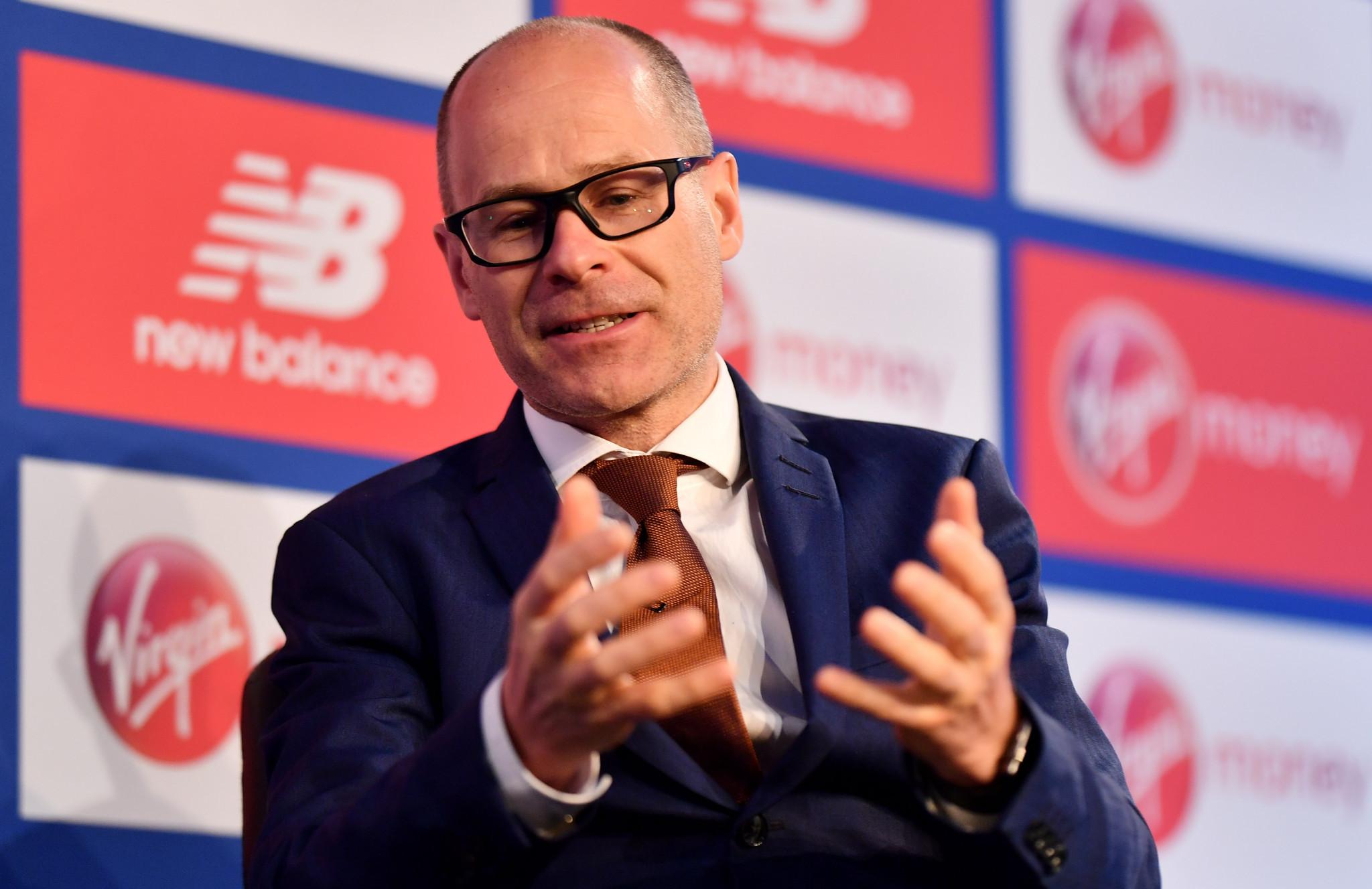 London Marathon director Hugh Brasher has spoken of the uncertainty surrounding the event ©Getty Images