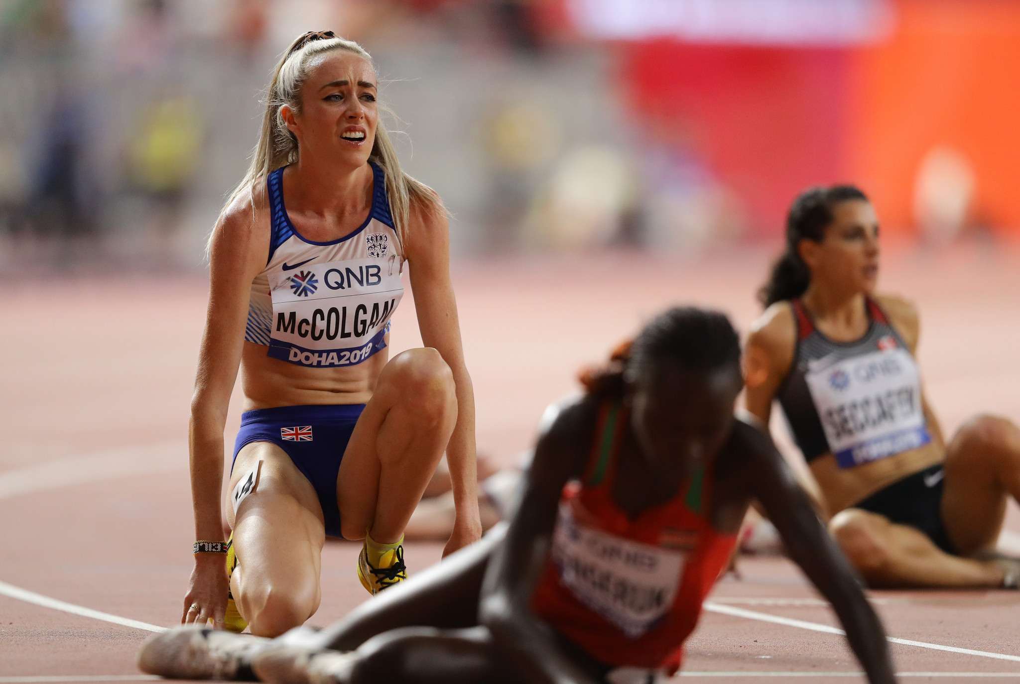 Distance runner McColgan eyes marathon at Paris 2024