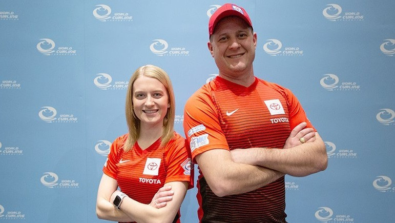 World bronze medallists Cory Christensen and John Shuster have been selected for the USA Curling mixed doubles high-performance programme ©Team USA