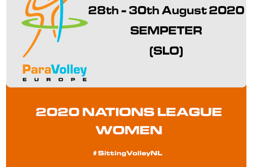 ParaVolley Europe aims to hold women's Nations League event in August