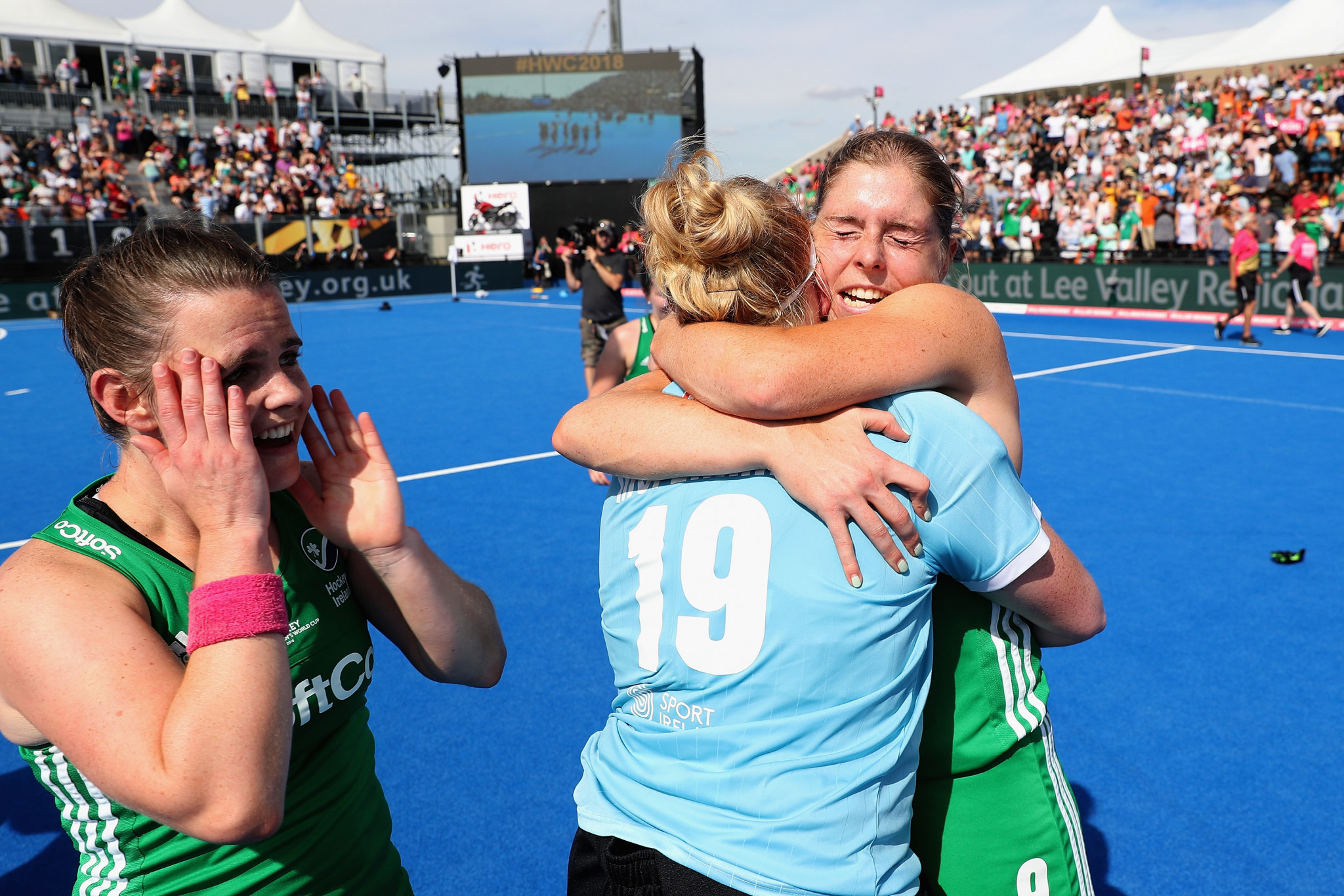 Ireland's women's hockey team are due to make their Olympic debut at Tokyo 2020 ©Getty Images
