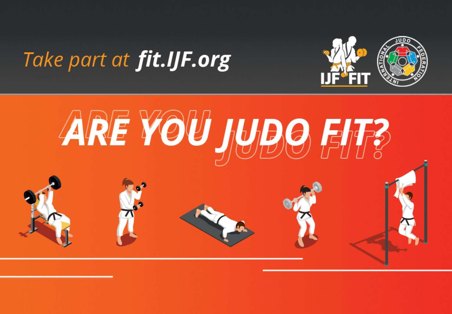 IJF launches home exercise platform Judo Fit