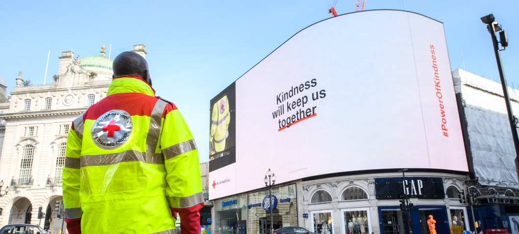 BOA and British Red Cross aim to celebrate kindness in Mental Health Awareness Week