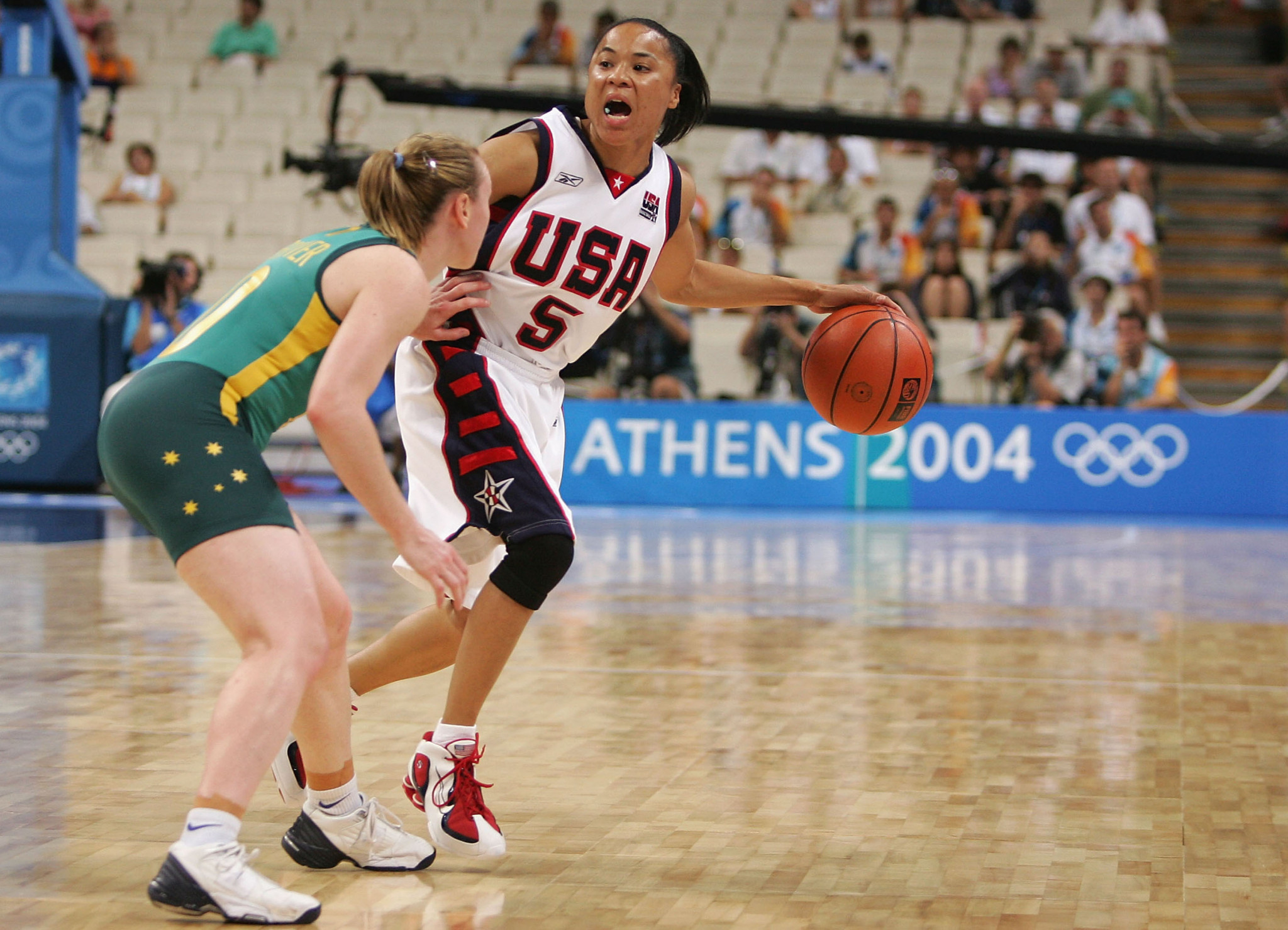Dawn Staley won Olympic gold three times, including at Athens 2004 ©Getty Images
