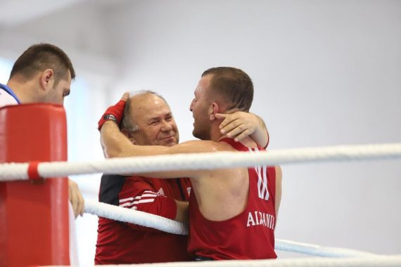 The European Boxing Confederation has paid tribute to Skender Kurti ©EUBC