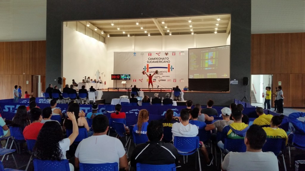 Lima hosts first weightlifting test event ahead of 2019 Pan American Games