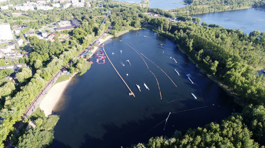 Wake Zone Stawiki will again remain as the venue for next year's competition  ©IWWF