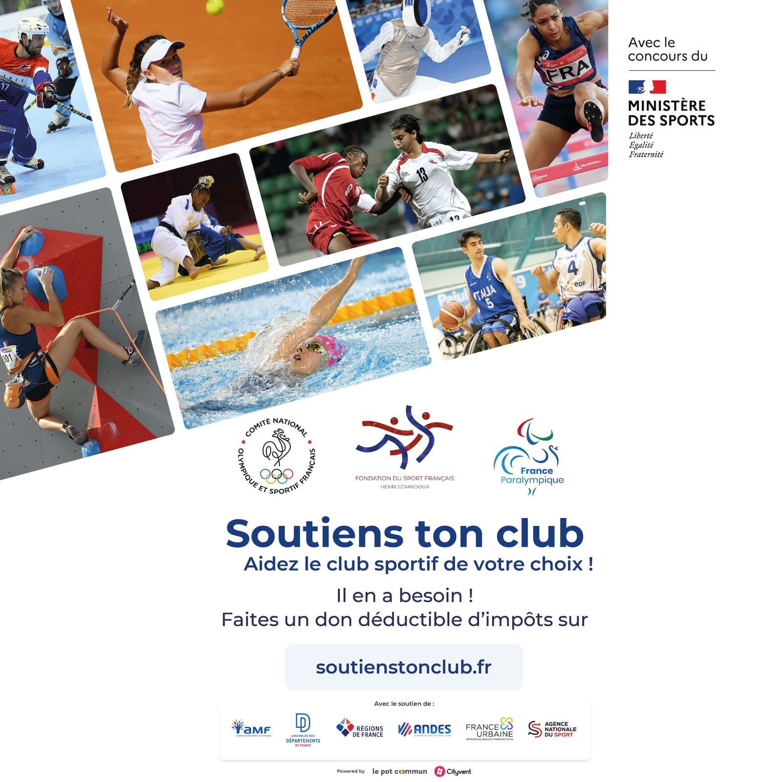 French NOC helps launch campaign to support struggling sports clubs