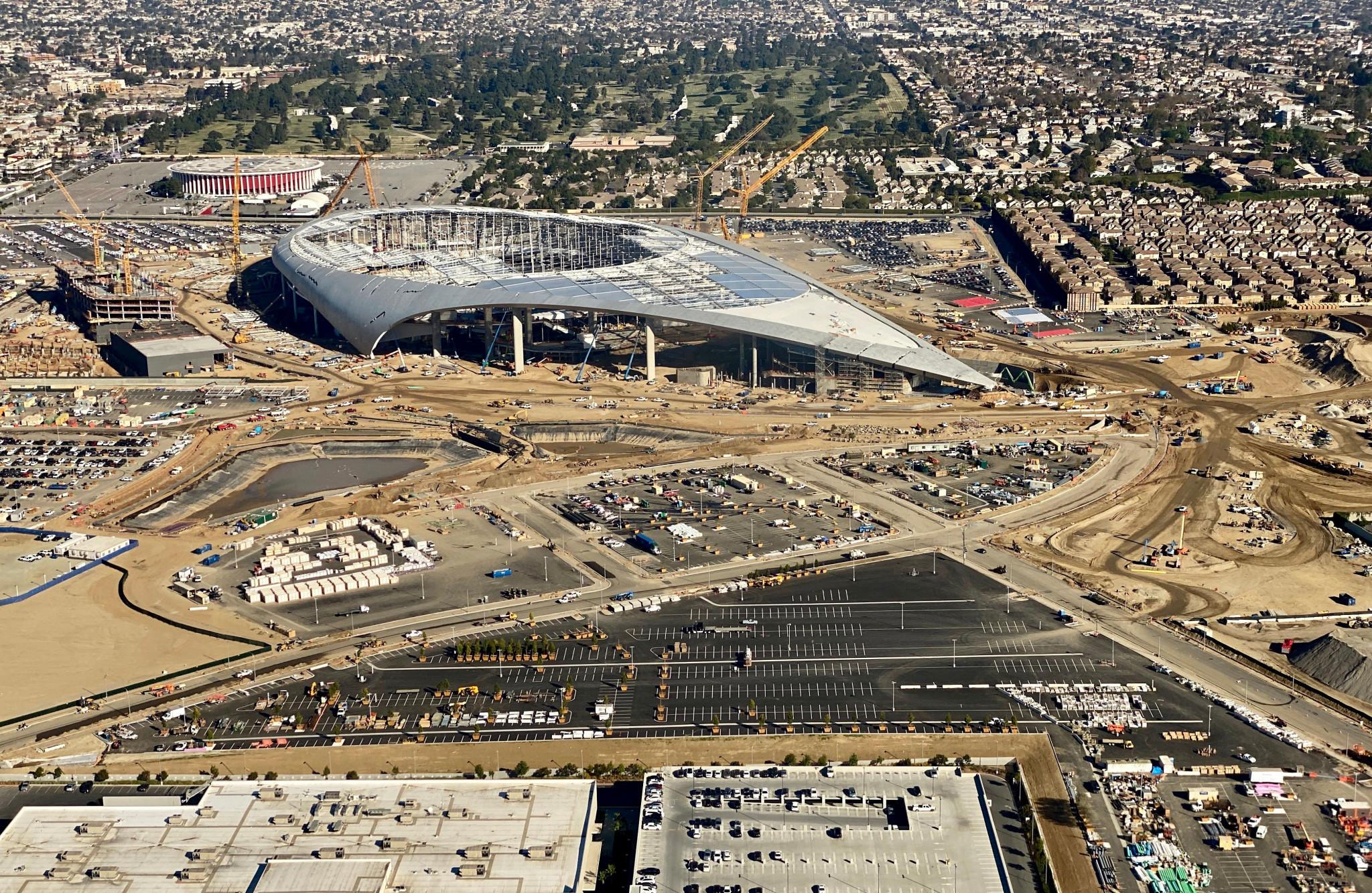 Rams to borrow extra $500 million from NFL to fund Olympic venue SoFi Stadium