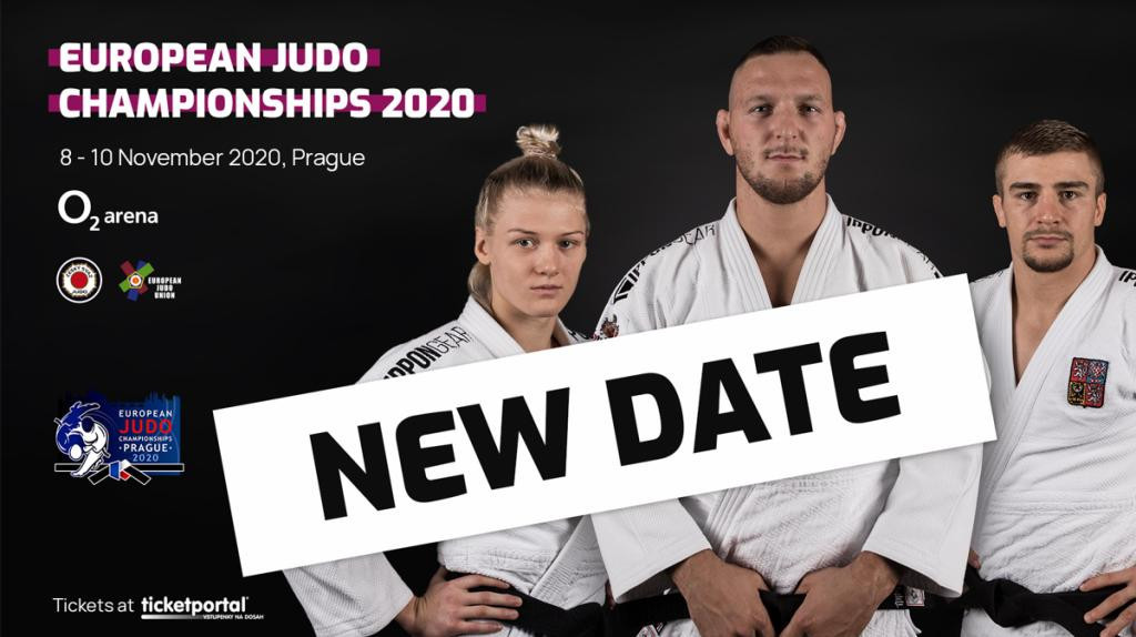 New dates for European Judo Championships confirmed with event remaining as Tokyo 2020 qualifier