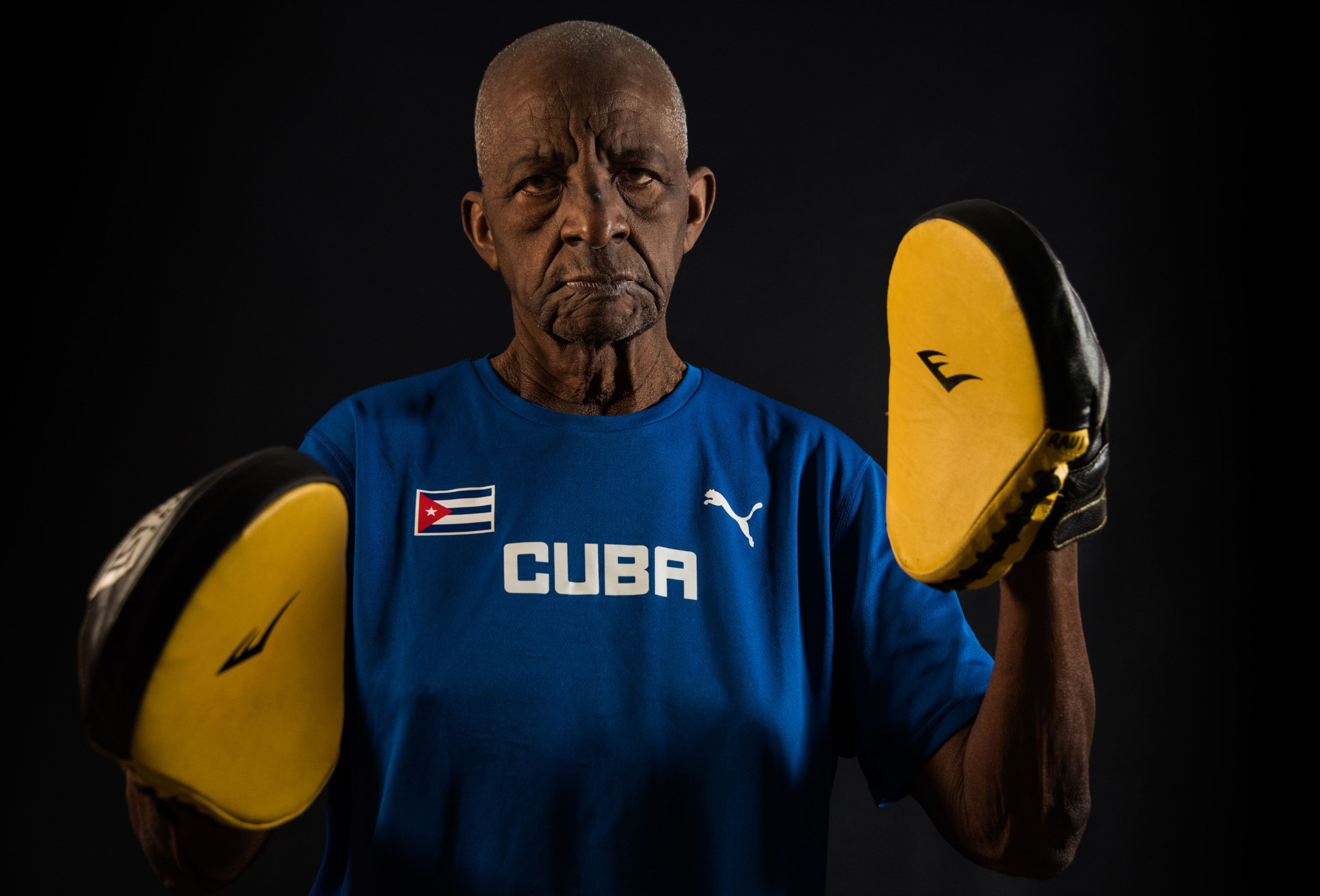 Legendary trainer Alcides Sagarra believes Cuba should have a women's boxing team ©Getty Images