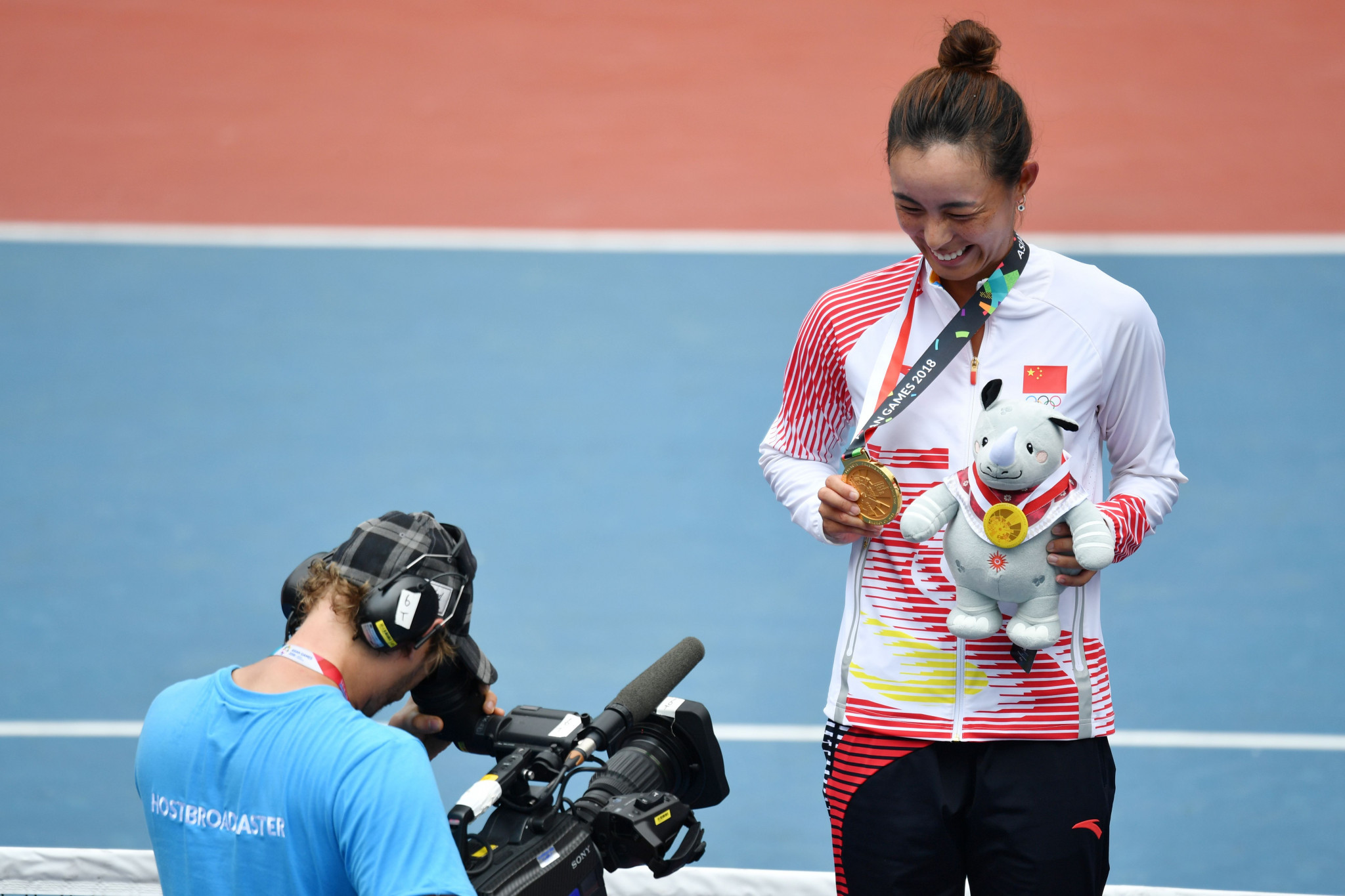 Wang Qiang is a two-time Asian Games champion ©Getty Images