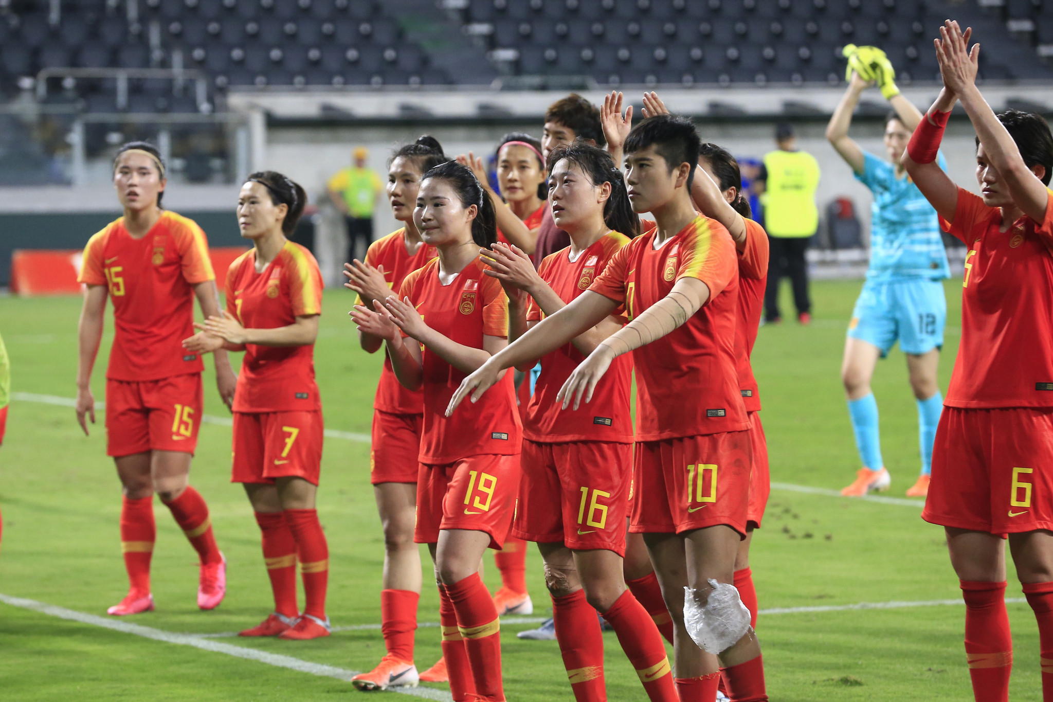 China and South Korea to meet in Tokyo 2020 women's football playoff in February