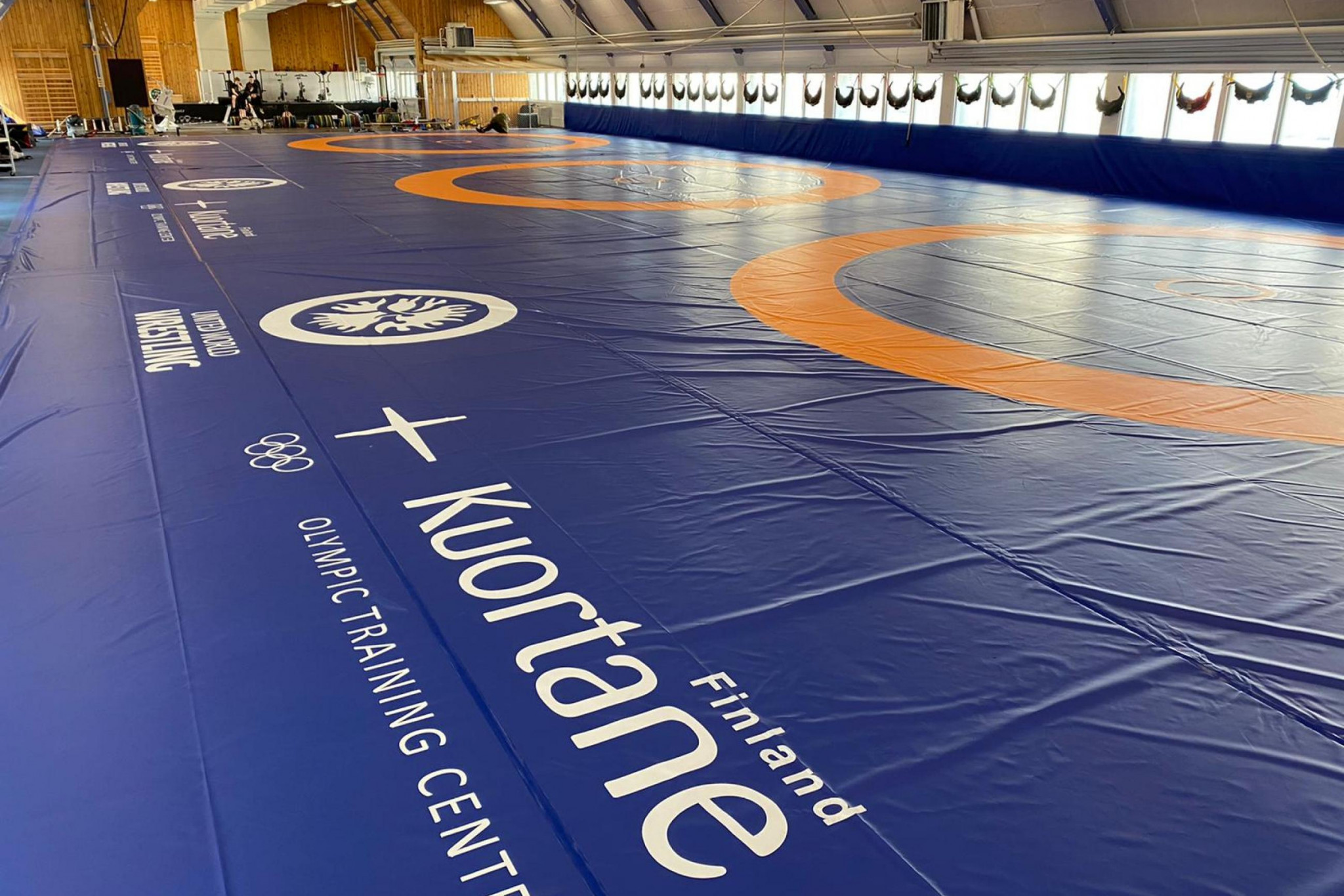 Finnish wrestling training centre completes expansion