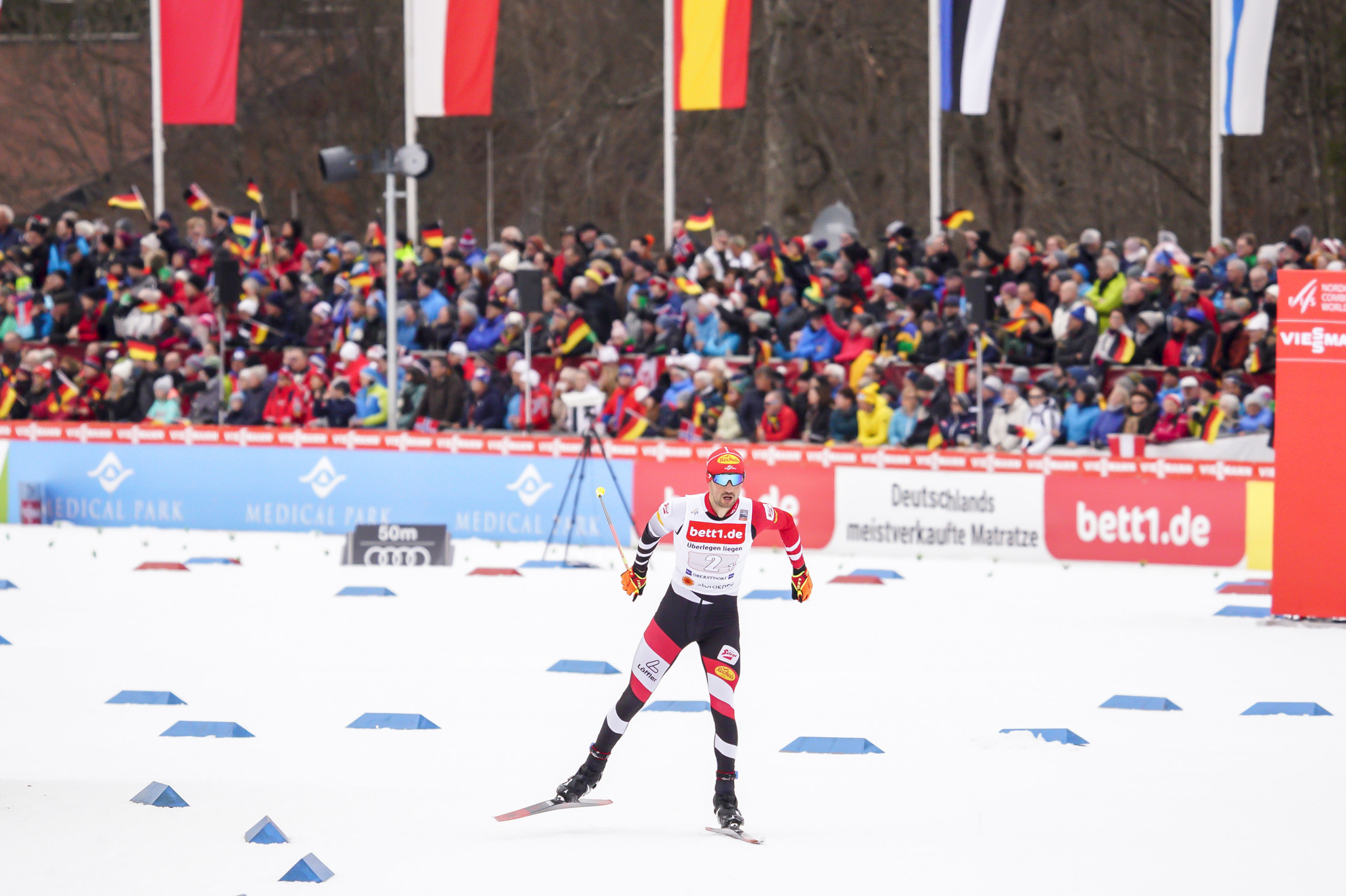 Oberstdorf in Germany will host the test events for the 2021 FIS Nordic World Ski Championships in September ©Getty Images