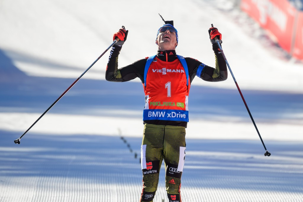 Schempp and Dahlmeier secure German double on pursuit day at IBU World Cup