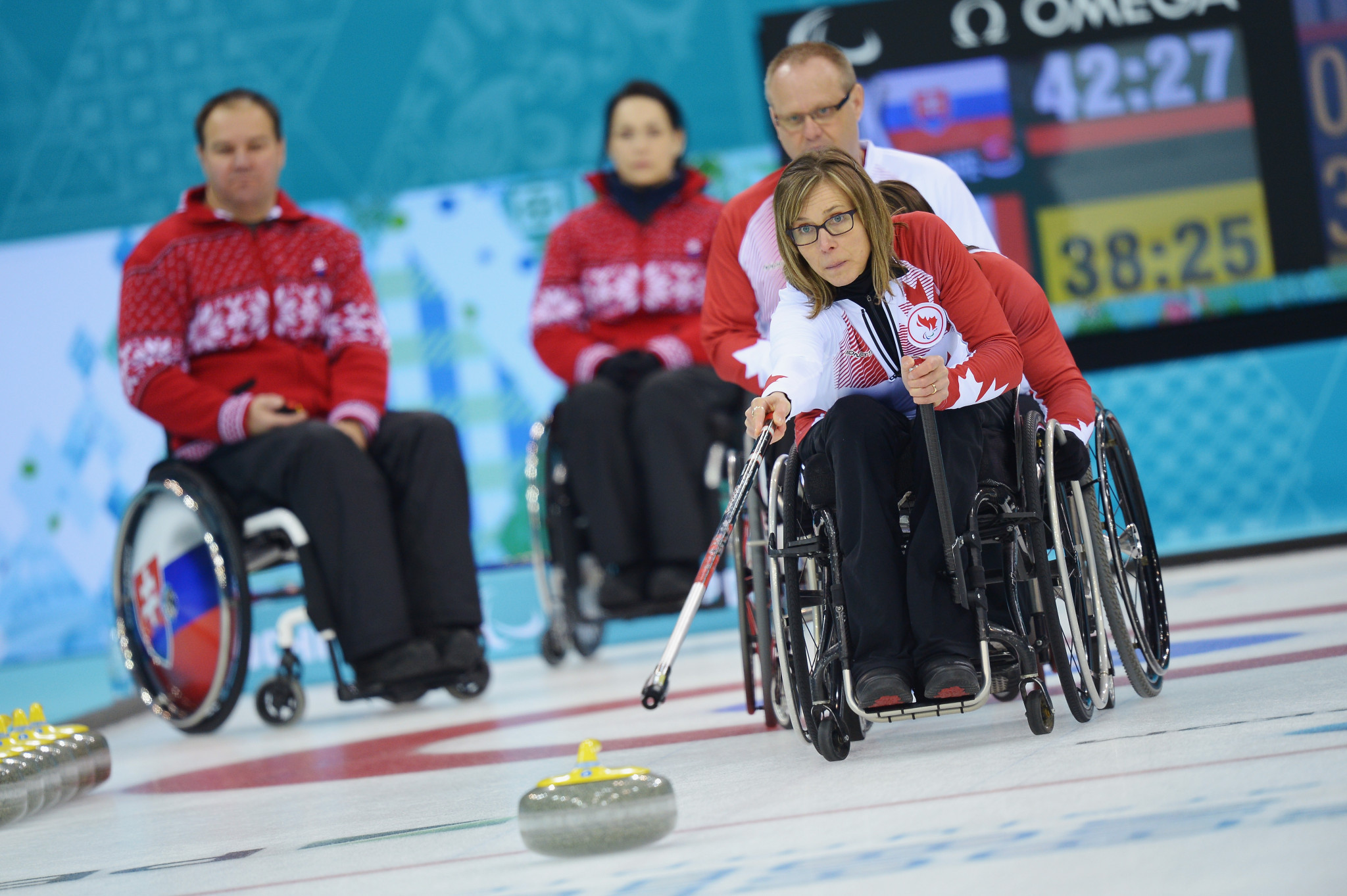 "Wheelchair curler Gaudet ""humbled"" by Canadian Hall of Fame honour"